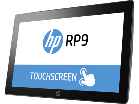 HP RP9 Retail System Side
