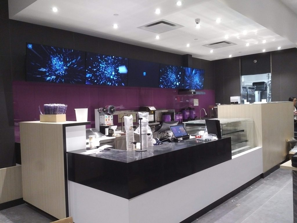 A modern install at Chatime Windsor