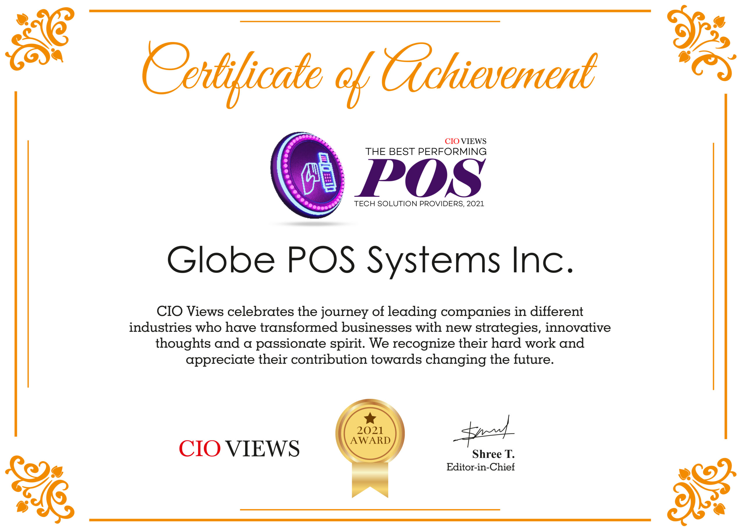The Best Performing POS Tech Solution Providers