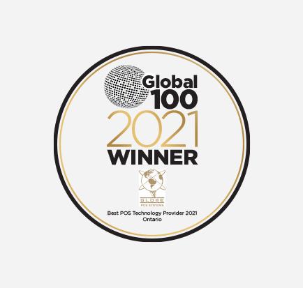 global 100 award logo